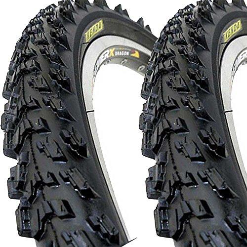 2 x Kenda K829 Fahrrad Reifen 26 x 1,95 | 50-559 schwarz Set NEU BIKE 26 Reifen