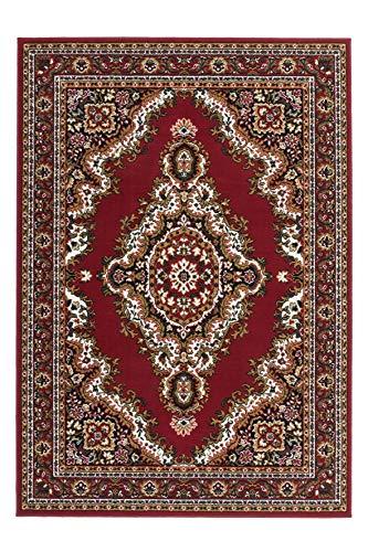 Lalee Klassischer Webteppich, Rot, 160 x 230 cm -