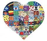 Laserano Hochzeitspuzzle als Malspass für die ganze Gesellschaft, kreatives Hochzeitsspiel ,Holzpuzzle - Personlisierbar