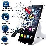 A & D® Displayschutzfolie aus Hartglas für Wiko Pulp Fab 4g Filter Displayschutz unsichtbar & unzerkratzbar Vitre bruchsicher für Smartphone 3g 4g Pulp Fab