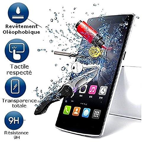 A&D® FILM PROTECTION Ecran en VERRE Trempé pour Nokia Microsoft Lumia 640 XL 4G filtre protecteur d'écran INVISIBLE & INRAYABLE vitre INCASSABLE pour Smartphone 3G 4G Nokia Microsoft Lumia 640