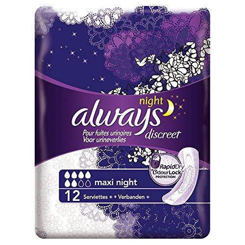 always-discreet-serviettes-maxi-night-pour-fuites-urinaires-et-incontinence-x12