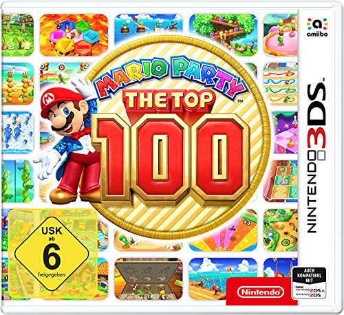 Mario Party: The Top 100 - [Nintendo 3DS] (Spiel 3ds Mario)