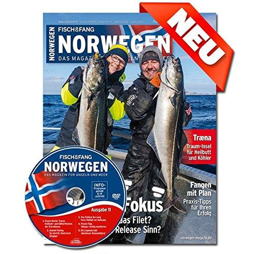 FISCH & FANG Sonderheft Nr. 43: Norwegen Magazin Nr. 12: Das Magazin für Angeln und Meer (Norwegen Magazin / Das Magazin für Angeln und Meer)
