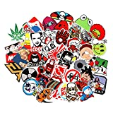 Baybuy 7 Series Stickers 100pcs/pack Variety Vinyl Car Sticker Motorcycle Bicycle Luggage Decal Graffiti Patches Skateboard Stickers for Laptop Stickers (series H)