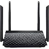 ASUS RT-N19 - Router WiFi N600 Mbps, 4 Antenas de 5 dBi (4x4, Servidor VPN, ASUS Router App, Control Parental, Modos repetido