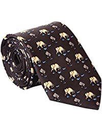Elephant Silk Tie
