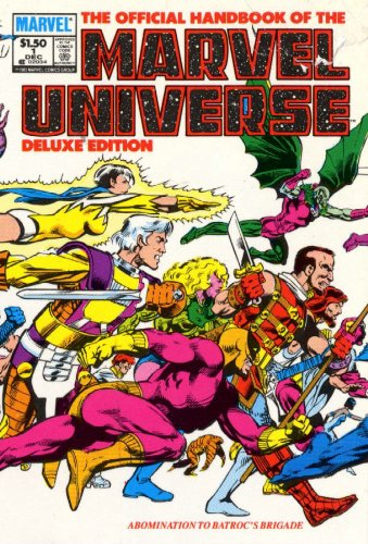 Essential Official Handbook of the Marvel Universe - Deluxe Edition Volume 1