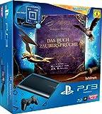 PlayStation 3 - Konsole Super Slim 12 GB (inkl. DualShock 3 Wireless Controller + Move Starter Pack + Wonderbook: Das Buch der Zaubersprüche)