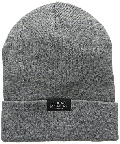 cheap-monday-womens-plain-beanie-grey-grey-melange-one-size