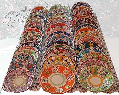 Piatto Vietri Ceramica vietrese Dipinti a Mano Gli animaletti (Prezzo per Piatto Singolo)