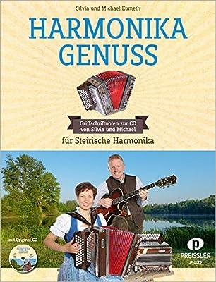 Harmonika Genuss für Steirische Hamronika in Griffschrift inkl. CD