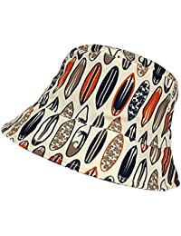 Boys Surfboard Bucket Style Summer Holiday Beach Hat