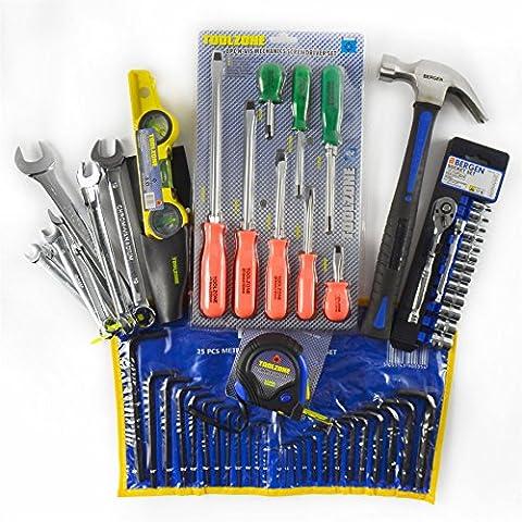 Tool Hamper / Bundle / Toolbox Filler / Christmas Gift Hammer Sockets Ratchet Spirit Level Spanners Screwdriver Allen Keys Measuring Tape