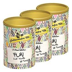 Goldmännchen Tee PUROMA Fun / Chai Vanille, Teebeutel, Tee Pads, 75 Puroma-Beutel