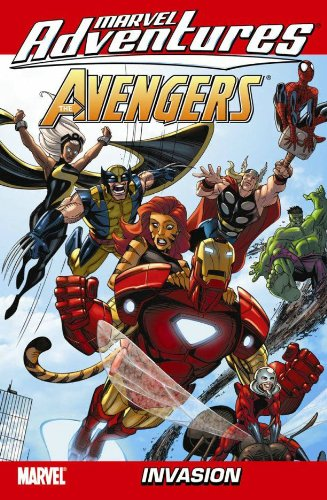 Marvel adventures, The Avengers.