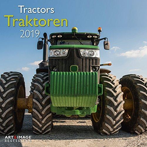 Traktoren 2019 - Autokalender, Nutzfahrzeuge, Posterkalender - 30 x 30 cm