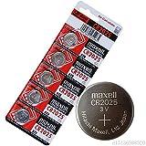 #2: e4u 3V CR2025 100% Authentic Hitachi Maxell Make Lithium Coin Battery - 5 Pieces