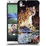 Super Galaxy Coque de Protection TPU Silicone Case pour // V00003853 copos de nieve leopardo // HTC Desire 816