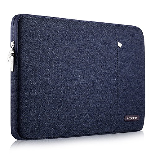HSEOK Laptop Hülle 13-13,3 Zoll MacBook Air/Pro Retina(2012-2015), Stoßfeste Wasserdicht Laptop-Tasche PC Hülle für die Meisten 14 Zoll Laptops (Acer/Ausu/Dell/HP/Lenovo/Toshiba), Blau