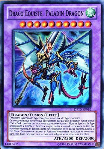 carte Yu-Gi-Oh DP10-FR016 Draco Equiste. Dragon Paladin Dragon Equiste. B0735JZH35 3967a9