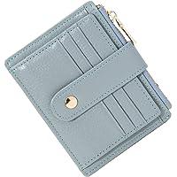 BTNEEU Porta Carte di Credito in Pelle RFID Blocco Portafoglio Sottile con Portamonete, Porta Carte di Credito con…