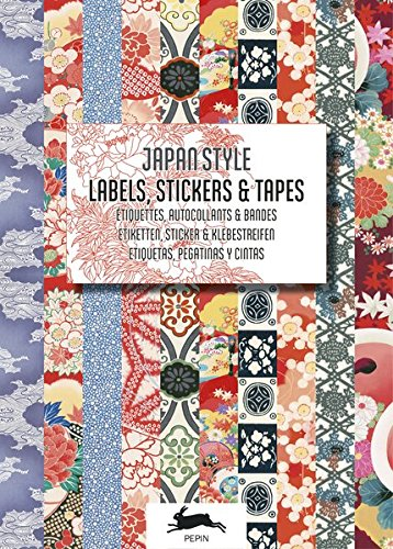 Japan Style. Labels, Stickers & Tapes: Label & Sticker Book (Stationery)