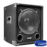 """Max MAX12SUB 12"""" DJ PA Passive Bass SubWoofer Speaker 400W RMS Disco Party"""