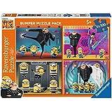 Ravensburger - Puzzle 4 x 100 piezas Bumper Pack, Gru, Mi Villano Favorito (6892)