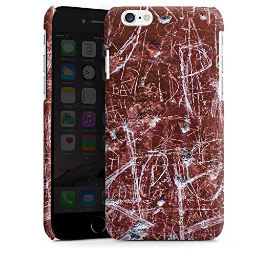 Apple iPhone 5s Housse Étui Protection Coque Rouille Egratignure Motif Cas Premium brillant