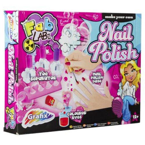 Grafix – Groovy Labz – Make Your Own Nail Polish – Kit de Création Vernis à ongles (Import UK)
