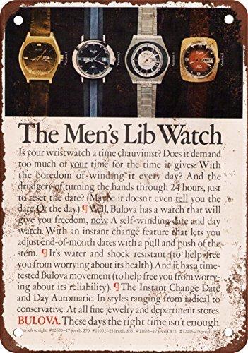 1973-bulova-hommes-39-s-de-liberation-montres-vintage-reproduction-plaque-en-metal-203-x-305-cm