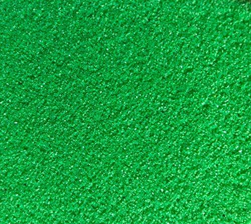 Rhinestone Paradise Dekosand Grün 600g Quarzsand Deko Sand Streusand Streudeko grüner Sand Streusand Tischdeko Dekorationssand