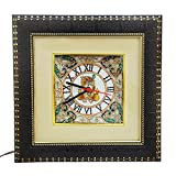 HANDICRAFTS PARADISE MARBLE WALL CLOCK G...