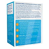 Pharmepa MAINTAIN Omega 3-Fischöl, extrastark 1000mg Omega 3 EPA & DHA pro Portion, Fischöl & Nachtkerzenöl mit Vitamin D3, 60 Kapseln