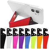 8 st universal fickstorlek färgglad bärbar hopfällbar V-modell mobiltelefonhållare, sourceTon skrivbordsstativ monteringshåll
