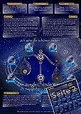 Sternzeichen Waage - Die Horoskop- und Charakter-Karte für Liebe, Partnerschaft, Beruf, Finanzen und Gesundheit: Die psychologische Astrologie von ... und Sternen [DIN A4 - zweiseitig, laminiert]