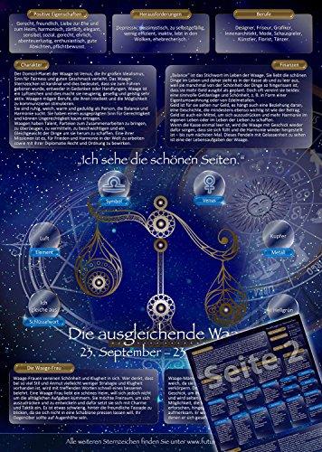 Sternzeichen Waage - Die Horoskop- und Charakter-Karte für Liebe, Partnerschaft, Beruf, Finanzen und Gesundheit: Die psychologische Astrologie von...