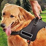 POWMAX Hundegeschirr K8kein Pull Geschirr Hund Leine gepolstert Pet Walking Geschirr schwere Pflicht für Hunde