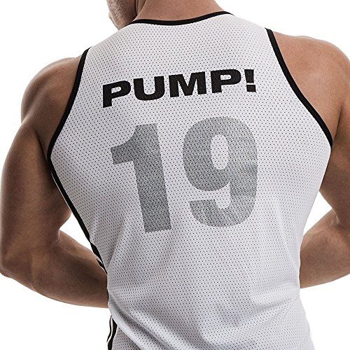 Pump! -  Canotta  - Uomo Bianco