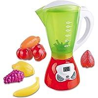 Kids Juicer Kitchen Appliance Toy Smoothie Maker Blender & Food Playset