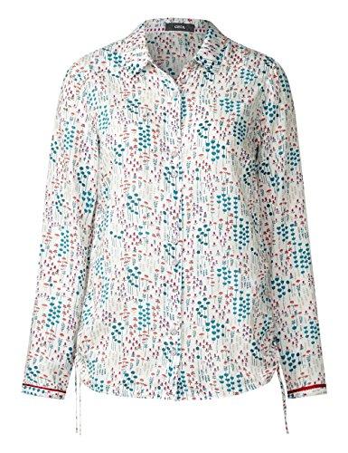 Cecil Millefleure Blouse, Camicia Donna Weiß (Pure Off White 30125)