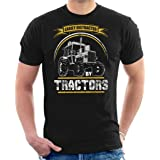 Cloud City 7 Easily Distracted by Tractors Men's T-Shirt