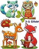 3-D Effekt _ Wandtattoo / Sticker -
