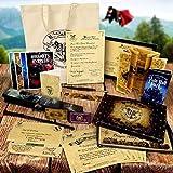 Harry Potter Maßgeschneiderte Hogwarts Annahme Brief Set mit Landkarten Stab Feder Das perfekte Weihnachten oder Geburtstagsgeschenk