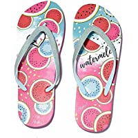 Infradito Sandali da Donna con Glitter motivo Anguria/Watermelon, colora la tua Estate con queste comode e originali…
