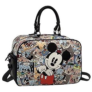 Disney Mickey Comic Bolsa de Viaje, 13.88 Litros, Color Varios Colores