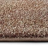 casa pura Shaggy Teppich Bali | Weicher Hochflor Teppich für Wohnzimmer, Schlafzimmer und Kinderzimmer | mit GUT-Siegel | Verschiedene Größen | viele Moderne Farben (200 x 300 cm, beige)