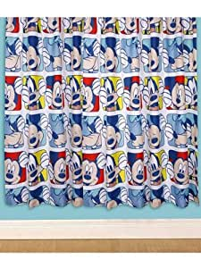 "Mickey Mouse Clubhouse 'Play' Curtains 66"" x 54"" drop"