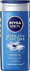 Nivea Men's Vitality Fresh Shower Gel, 250ml